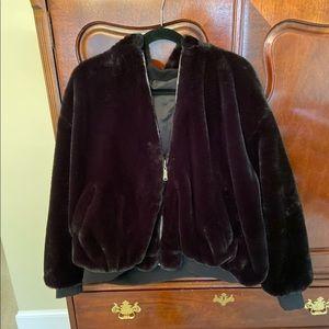 Zara Reversible Fur Jacket
